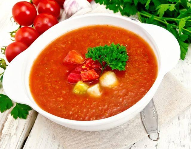 Суп гаспачо. рецепт классический в домашних условиях с фото пошагово