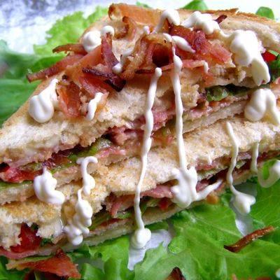 """Горячие бутерброды """"абсолютное удовольствие"""""""