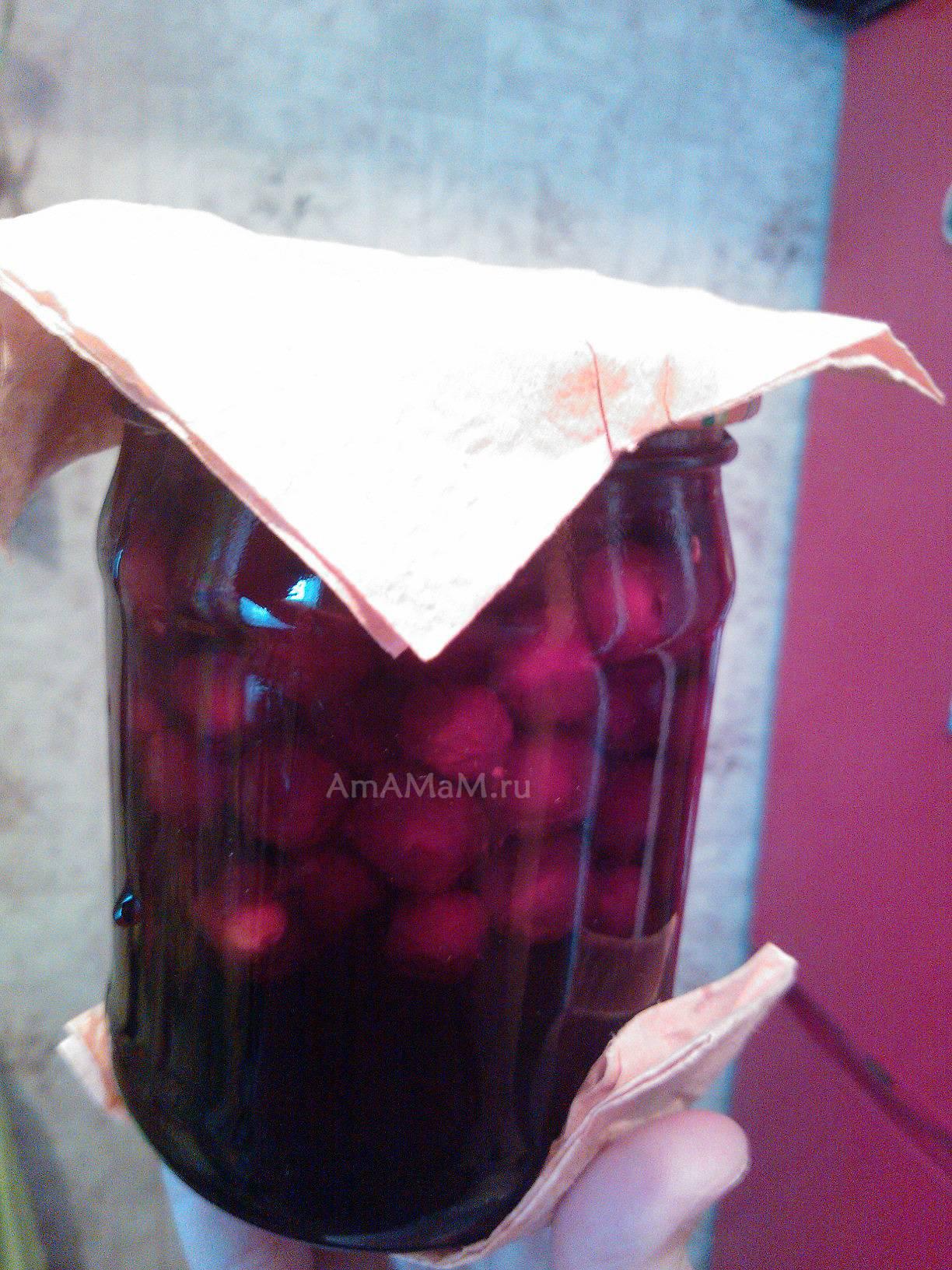 Варенье из замороженой вишни