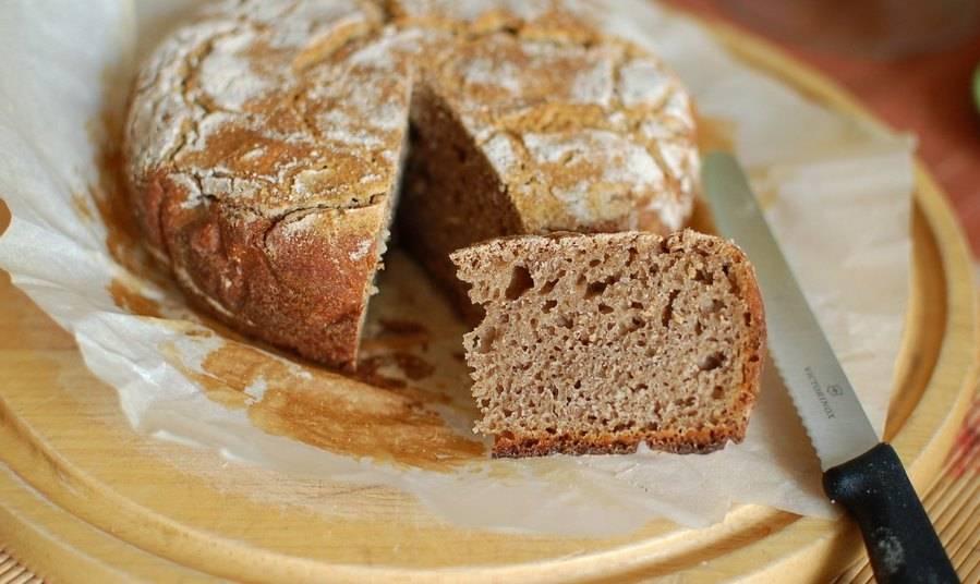 Быстрый бездрожжевой хлеб в мультиварке