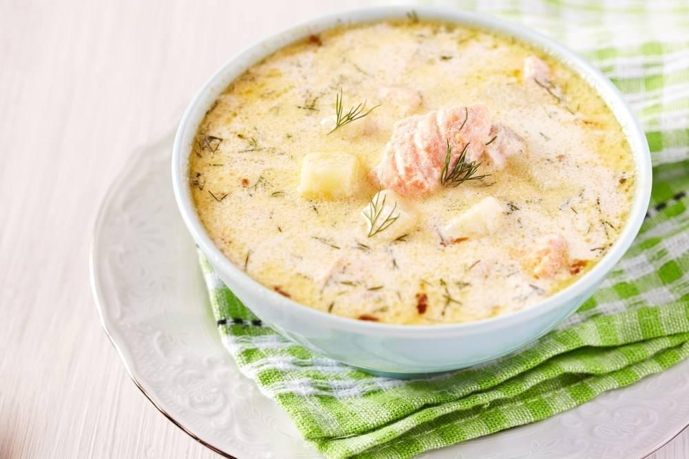 Суп из лосося