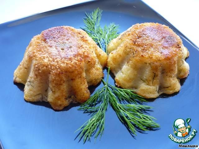 """Картофельные кексы. картофельные """"кексы"""" с ветчиной и сыром."""