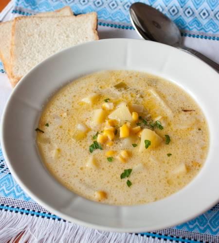 Крем-суп с креветками — нежно и изысканно