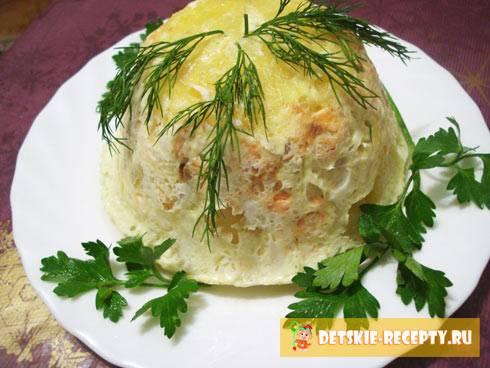 Картофельная запеканка с рыбными консервами, вкусные рецепты с фото