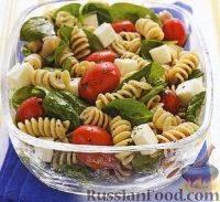 Обычный овощной салат с необычной заправкой
