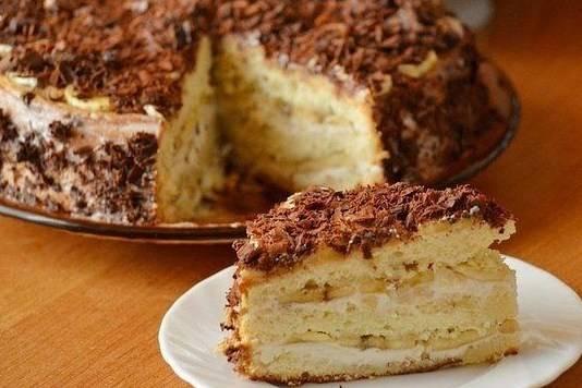 Творожно банановый кекс: рецепт и фото