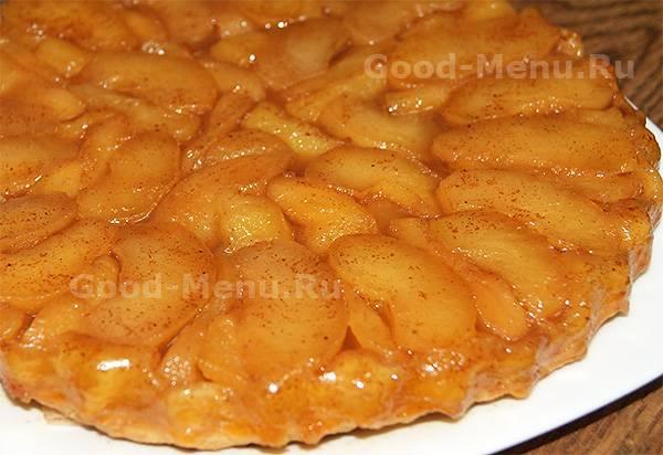 Тарт татен — французский яблочный пирог на песочном тесте