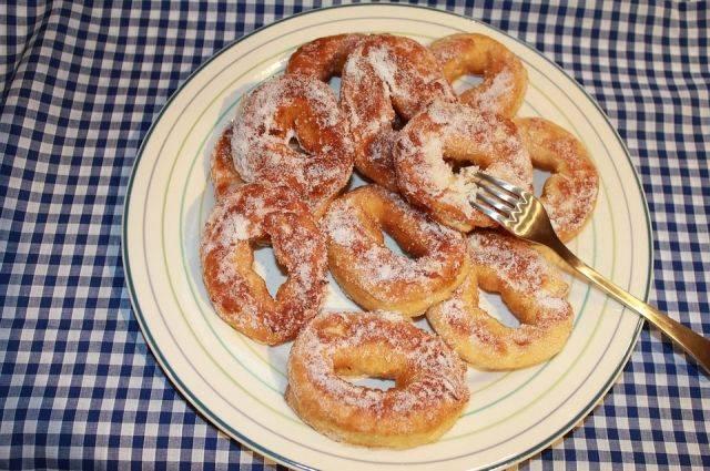 Пирожки-пышки с мясом