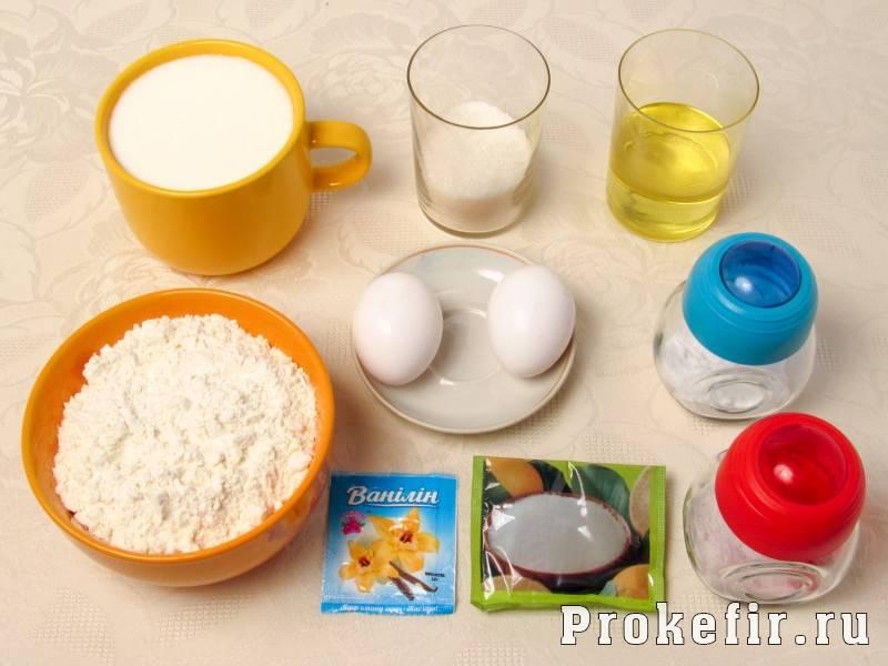 Приготовление пышных оладий на простокваше: рецепт с фото