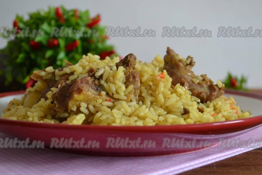 Плов из утки пошаговый рецепт с фото. плов из утки: рецепты и особенности приготовления