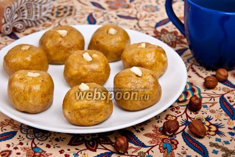 Ладу с фото | рецепт ладу | индийская сладость из нута | ореховая восточная сладость на webspoon.ru