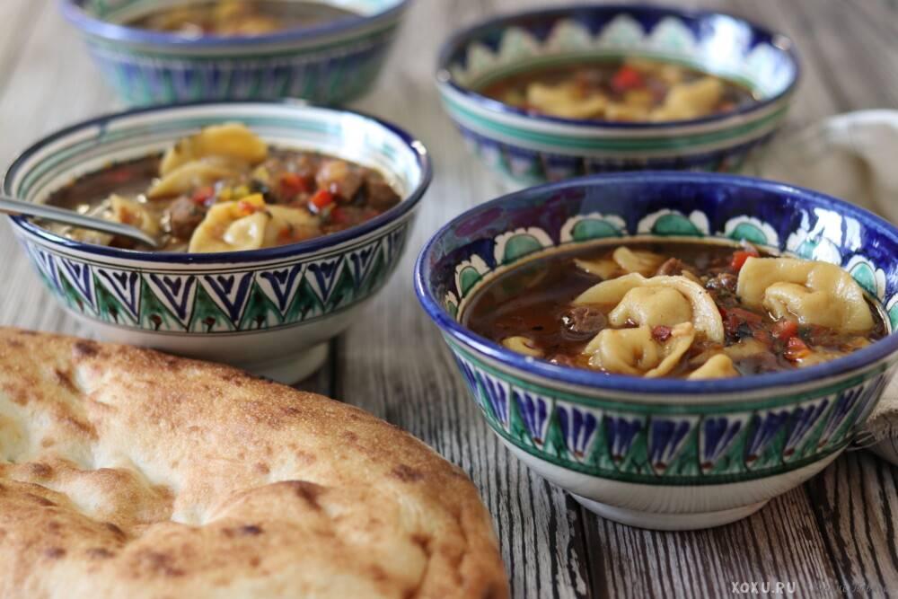 Чучвара, рецепт с фото, готовим узбекские пельмени чучвара, шаг за шагом с фотографиями
