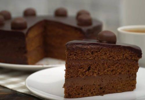 "Домашний торт ""Шоколадка"""