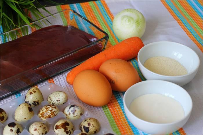 Закусочные кексы из печени