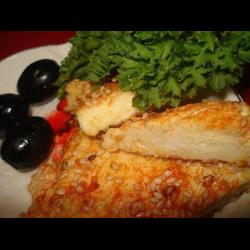 Жареный сыр в панировке: пошаговый рецепт с фото и видео