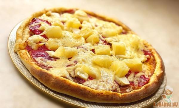 Гавайская пицца - рецепты джуренко