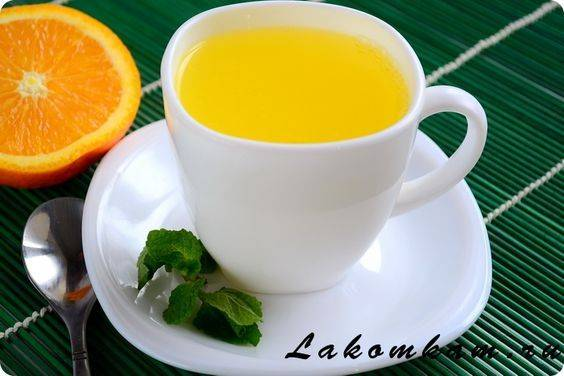 Рецепты апельсинового чая