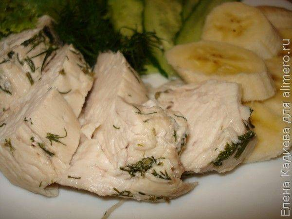 Куриное филе на пару в мультиварке (6 рецептов)