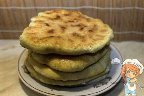 Лепешки с творогом и укропом - пошаговый рецепт с фото, ингредиенты, как приготовить - hi-chef.ru