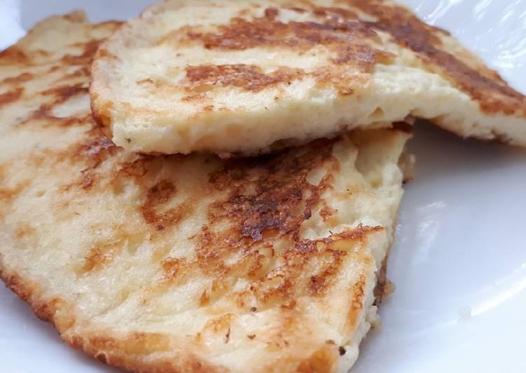 Рецепт лепешек ржаных, кукурузных, картофельных, с сыром, на кефире и на сметане