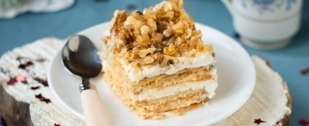 Торт муравейник из печенья и сгущенки — никакой выпечки!