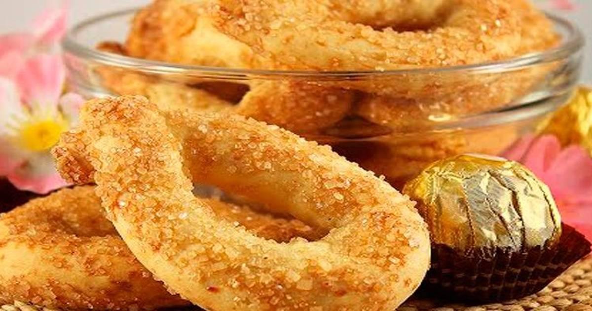 """Итальянское сахарное печенье """"торкетти"""" - 6 пошаговых фото в рецепте"""