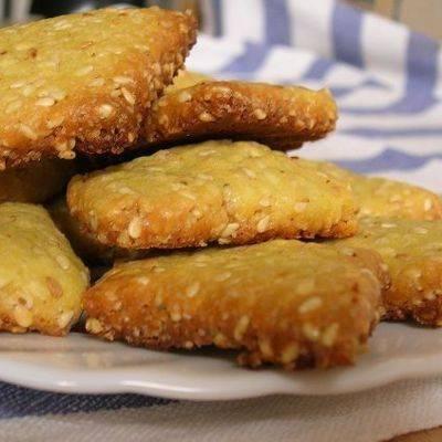 Кунжутное печенье - рецепты на скорую руку с семечками, плавленными сырками, из песочного, овсяного, творожного теста