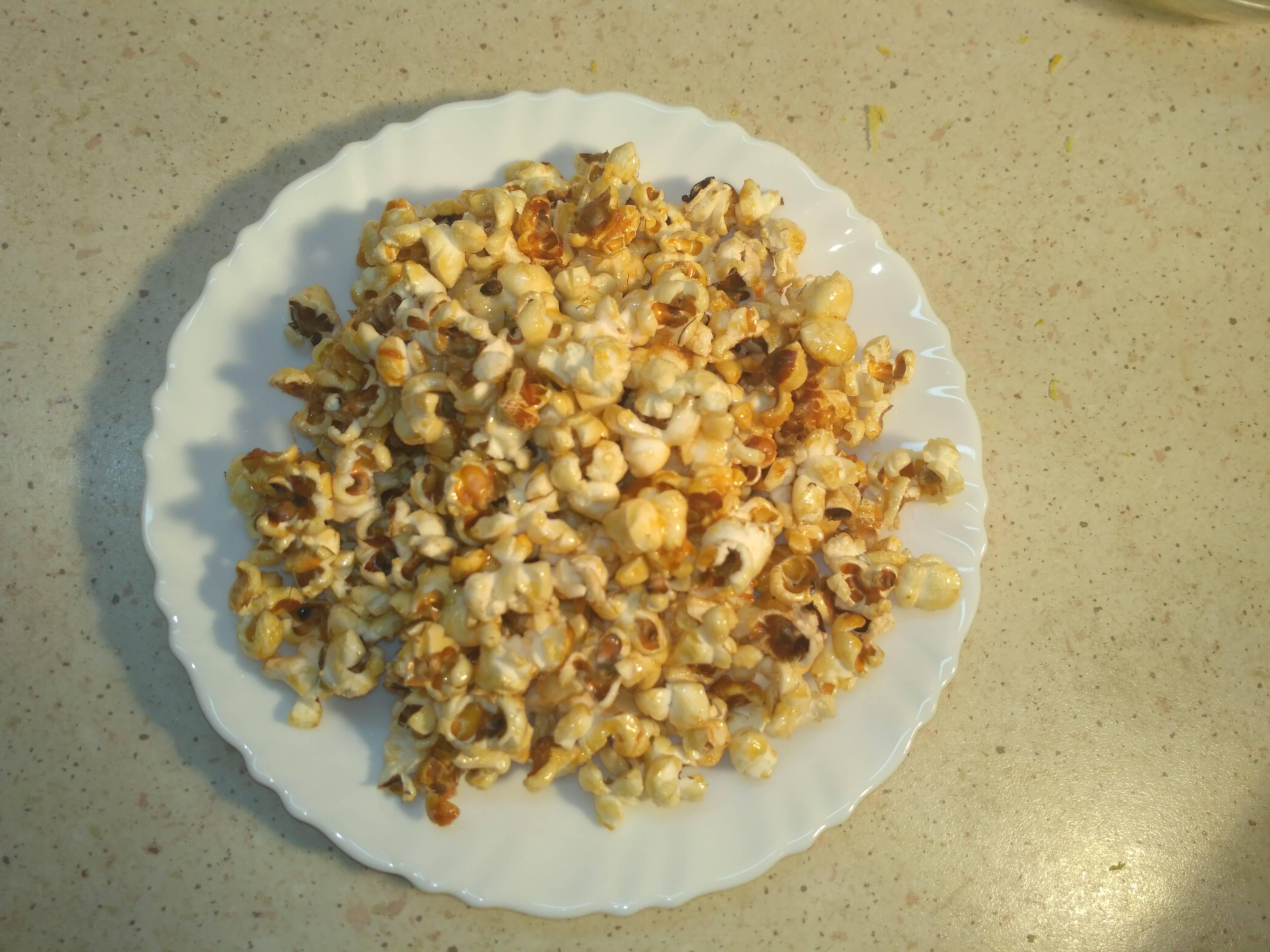 Как из кукурузы сделать попкорн в домашних условиях