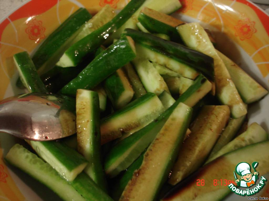 Огурцы по-корейски быстрого приготовления: рецепт с фото пошагово