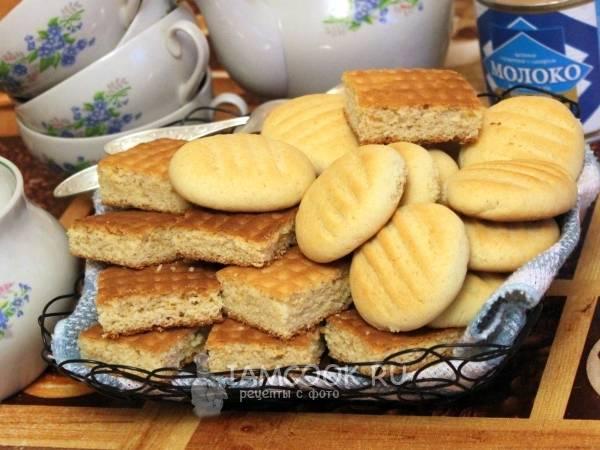 Самое быстрое печенье со сгущенкой