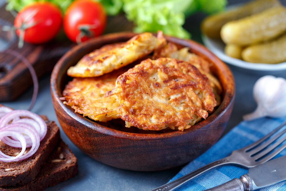 Как приготовить самые вкусные драники - статьи на повар.ру