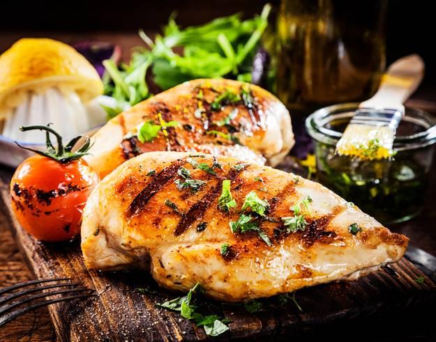 Курица в средиземноморском соусе
