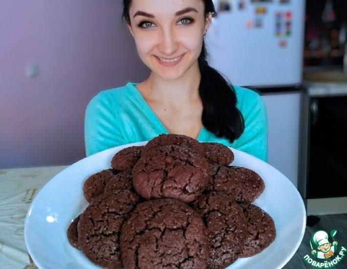 Шоколадное печенье брауни | мир домохозяйки