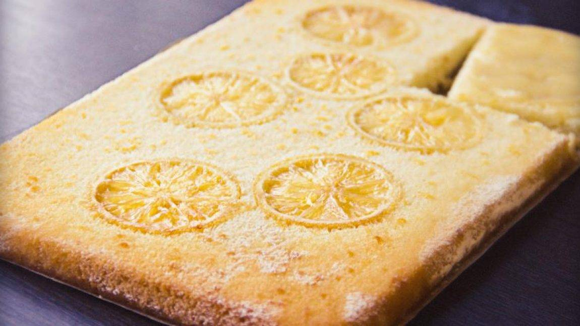 Волшебный лимонный пирог из песочного теста и немного о новогоднем настроении