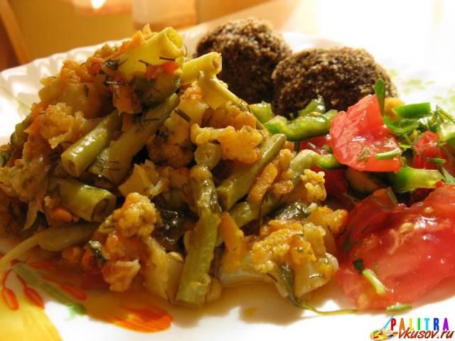 Блюда из цветной капусты. рецепты от сибмам с фото - овощные блюда