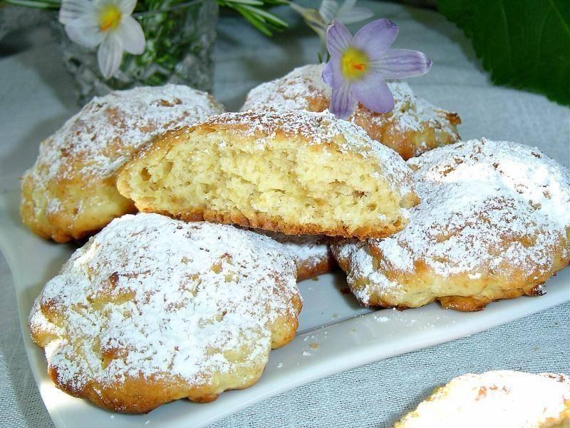 Яблочное печенье | рецепт яблочного печенья с фото | песочное печенье с яблоками на webspoon.ru