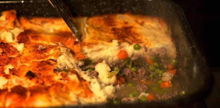 Shepherd's pie – английский пастуший пирог