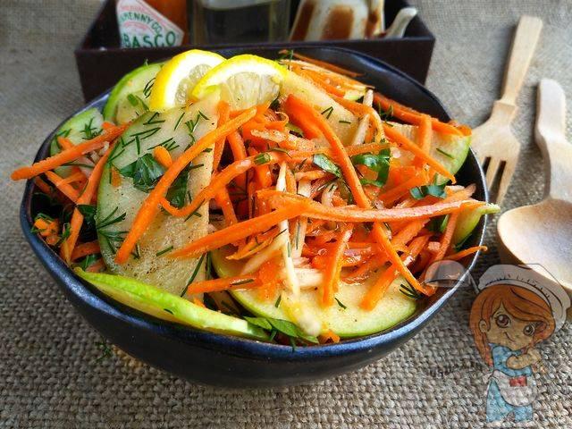 Салат из топинамбура позаботится о вашей талии
