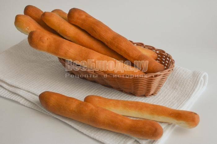 Хлебные палочки «злаковые»