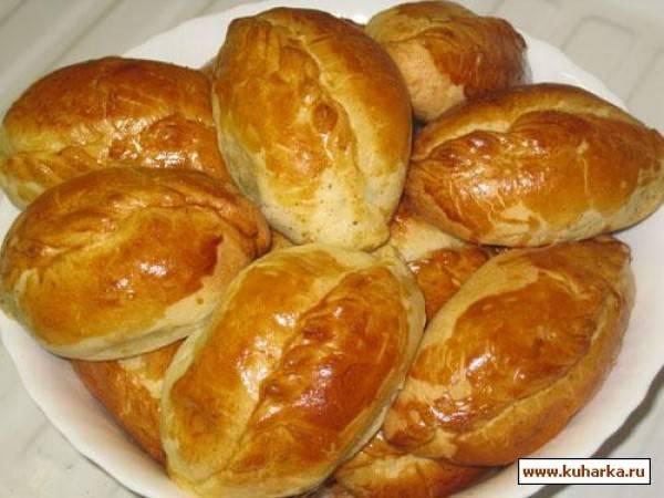 Жареные пирожки с картофелем и грибами - рецепт с фотографиями - patee. рецепты