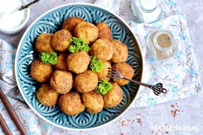 Картофельные крокеты, приготовление с фото