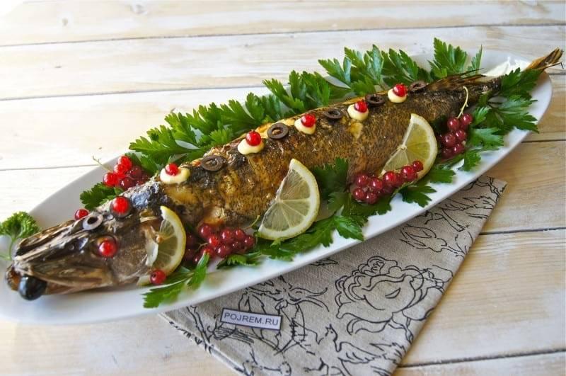 Фаршированная рыба и морепродукты - рецепты
