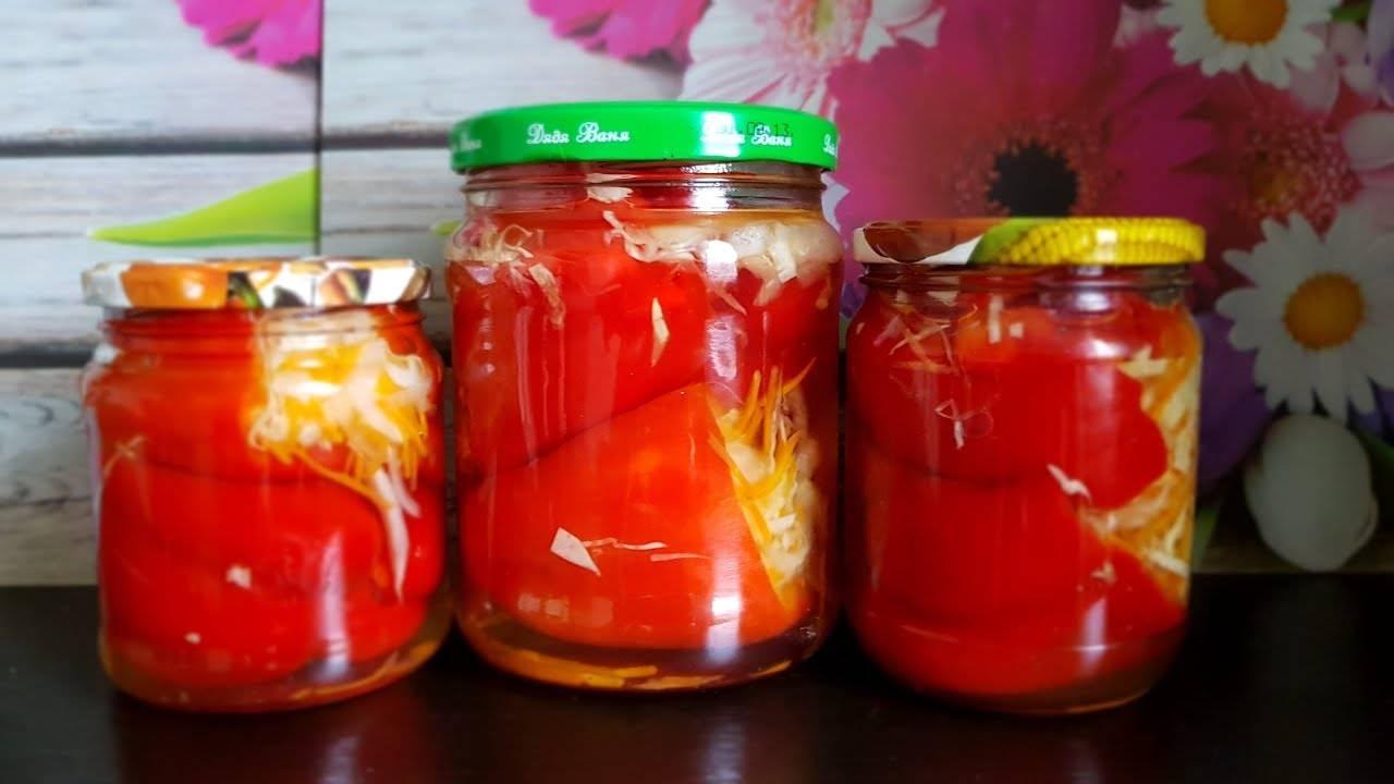 Как приготовить и сохранить на зиму квашенный перец, фаршированный капустой и морковью?