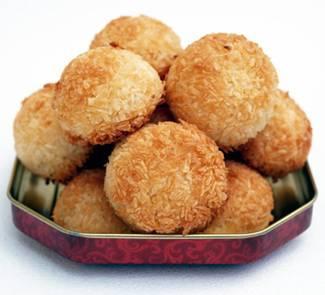 Кокосовое печенье «кокосанка»