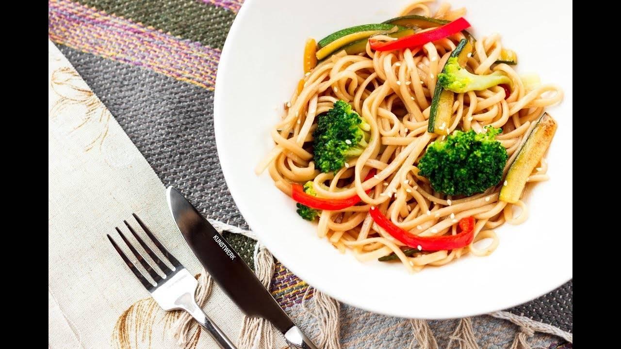 Лапша вок - 14 домашних вкусных рецептов приготовления