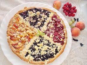 Пирог с разноцветной начинкой