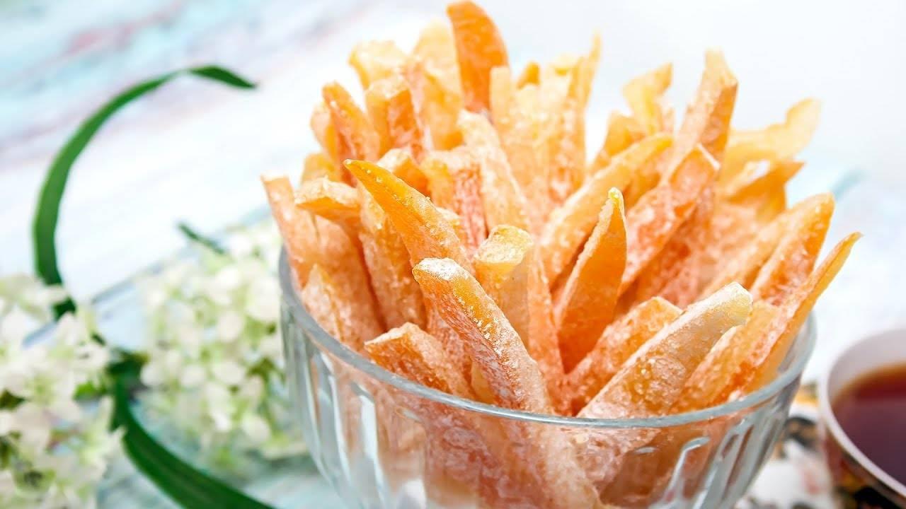 Цукаты из апельсиновых корок: 9 сладких рецептов |