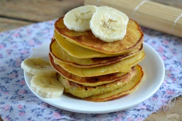 Как приготовить вкусные банановые оладьи
