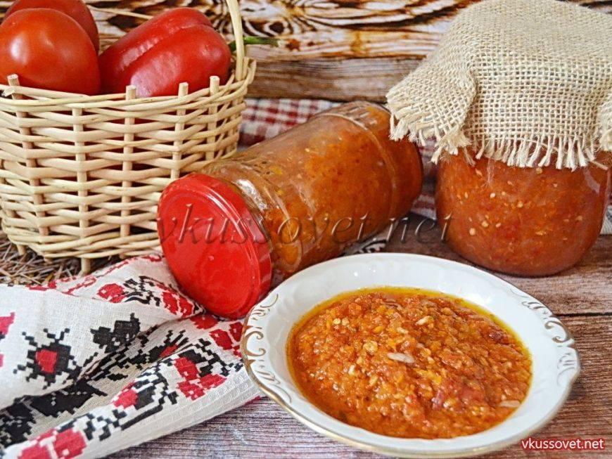 Аджика с яблоками на зиму - рецепты с помидорами, сливами, болгарским перцем и хреном