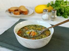 Суп с индейкой и стручковой фасолью